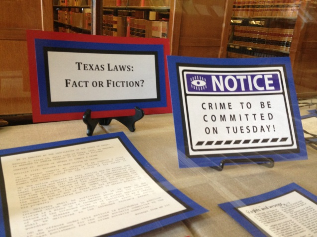 Texas Laws: Fact or Fiction?